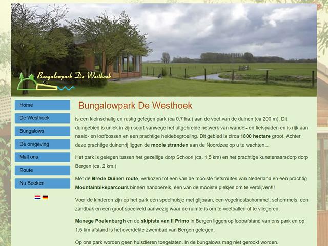 Bungalowpark De Westhoek